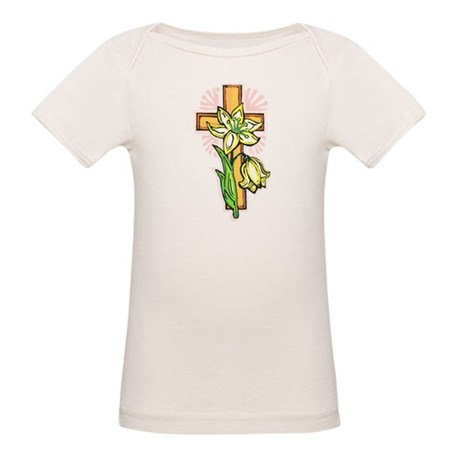Pretty Easter Organic Baby T-Shirt
