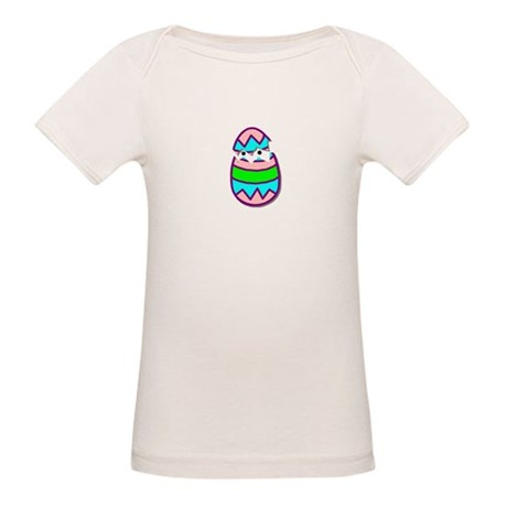 Hatching Chick Organic Baby T-Shirt