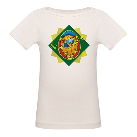 Pretty Easter Egg Organic Baby T-Shirt