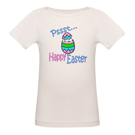 Happy Easter Chick Organic Baby T-Shirt