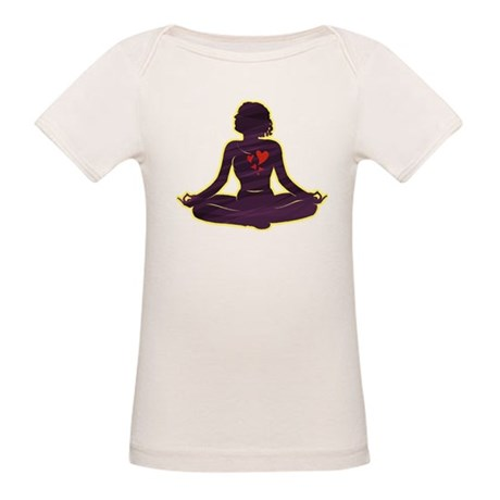 Lovely Yoga Organic Baby T-Shirt