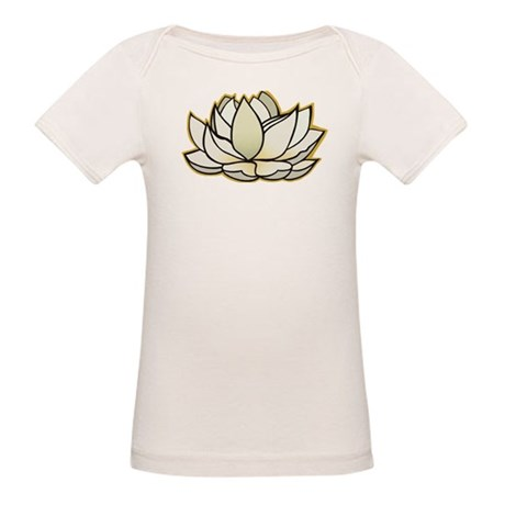 yoga lotus flower Organic Baby T-Shirt