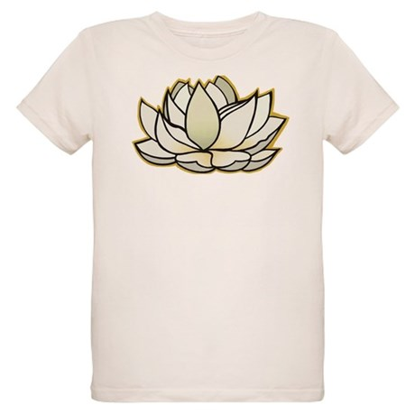 yoga lotus flower Organic Kids T-Shirt