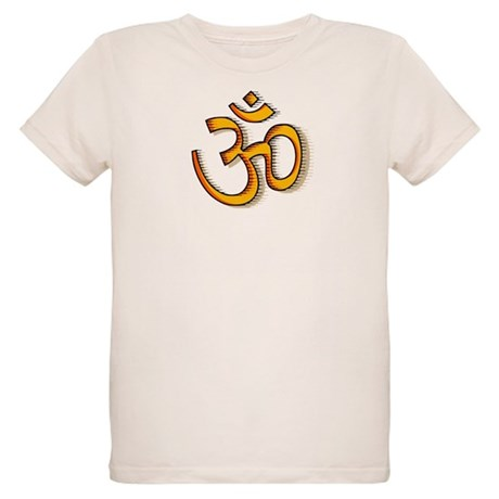 Om yoga Organic Kids T-Shirt