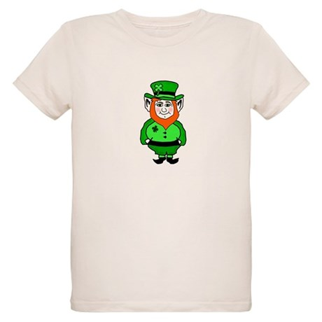 Happy Leprechaun Organic Kids T-Shirt
