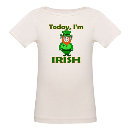 Today I'm Irish Organic Baby T-Shirt