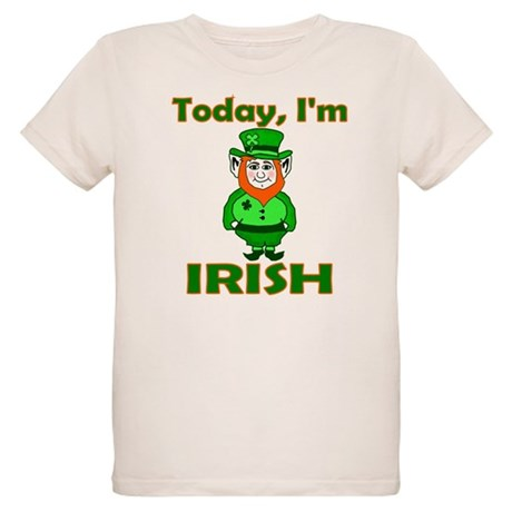 Today I'm Irish Organic Kids T-Shirt
