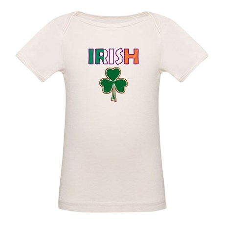 Irish Shamrock Organic Baby T-Shirt