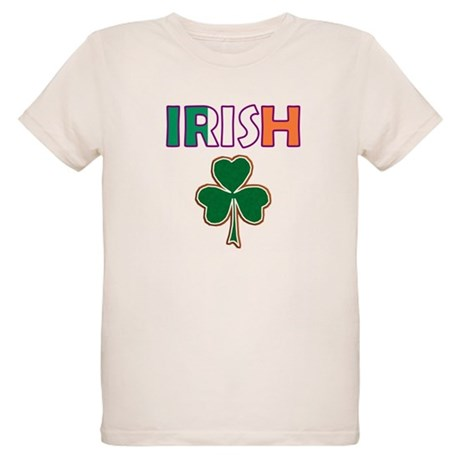 Irish Shamrock Organic Kids T-Shirt