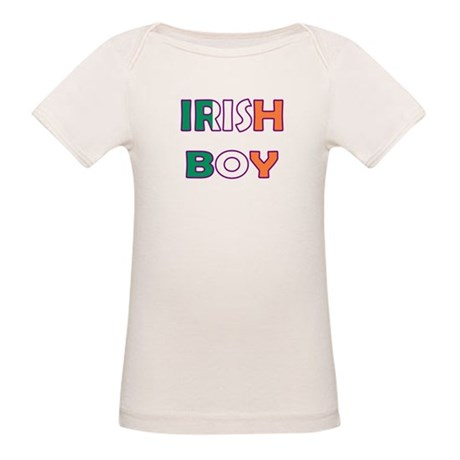 Irish Boy Organic Baby T-Shirt