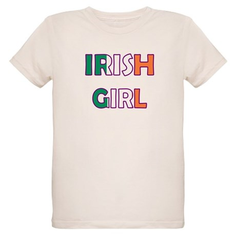 Irish Girl Organic Kids T-Shirt