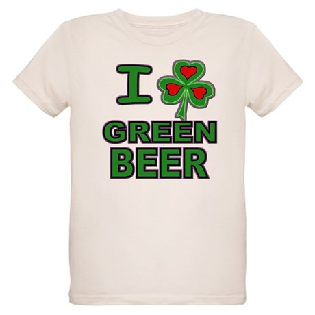 I Shamrock Green Beer Organic Kids T-Shirt