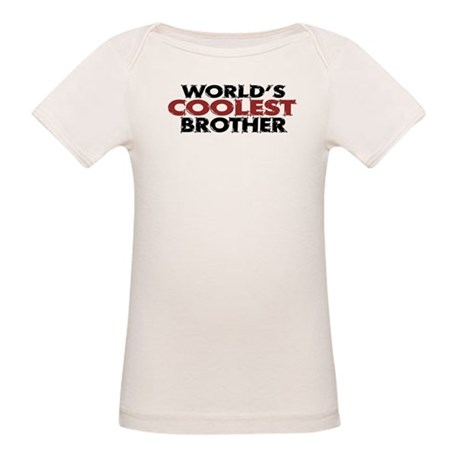 World's Coolest Brother Organic Baby T-Shirt