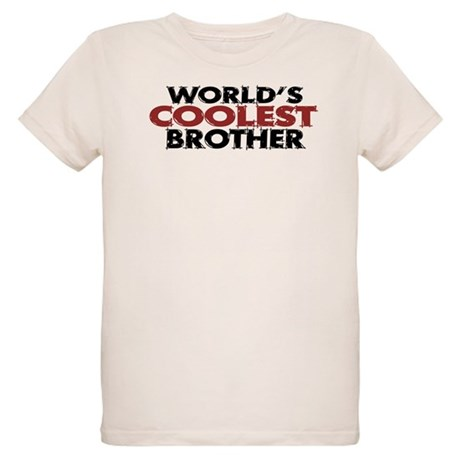 World's Coolest Brother Organic Kids T-Shirt