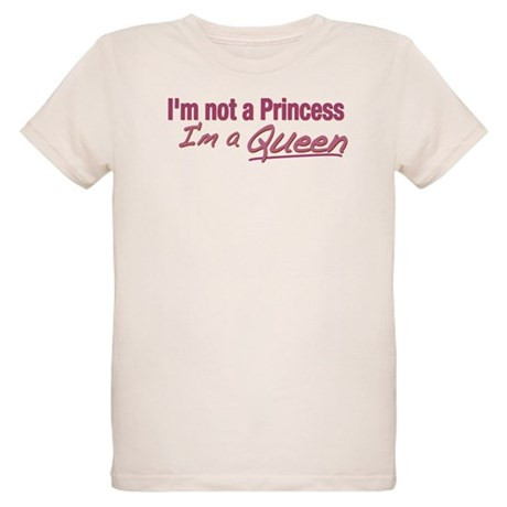 I'm a Queen Organic Kids T-Shirt