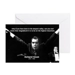 Motivation Richard Nixon Greeting Cards (Package o