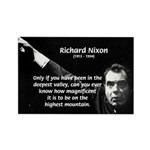 Motivation Richard Nixon Rectangle Magnet (10 pack