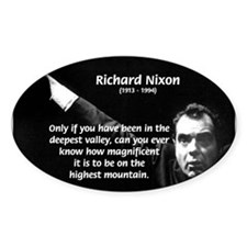 Motivation Richard Nixon Oval Decal