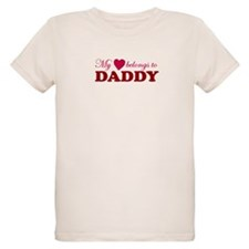 Heart Belongs to Daddy T-Shirt