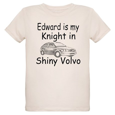 Shiny Volvo Organic Kids T-Shirt