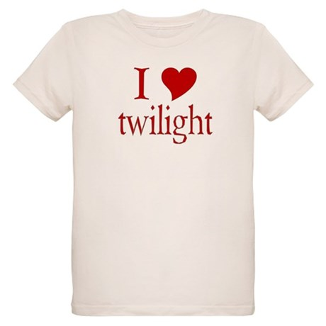 I love (heart) twilight Organic Kids T-Shirt