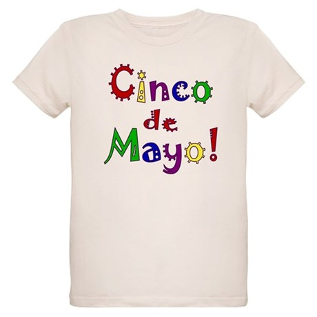 Cinco de Mayo Organic Kids T-Shirt