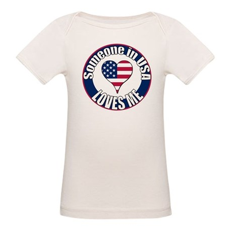USA Love Organic Baby T-Shirt