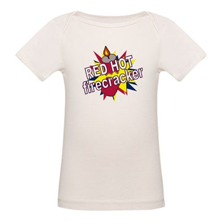 Red Hot Firecracker Organic Baby T-Shirt