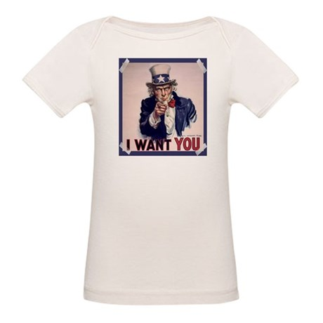 Uncle Sam Poster Organic Baby T-Shirt