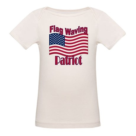 Patriot Flag Organic Baby T-Shirt