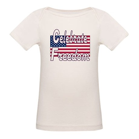 Celebrate Freedom Organic Baby T-Shirt