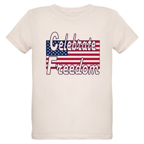 Celebrate Freedom Organic Kids T-Shirt