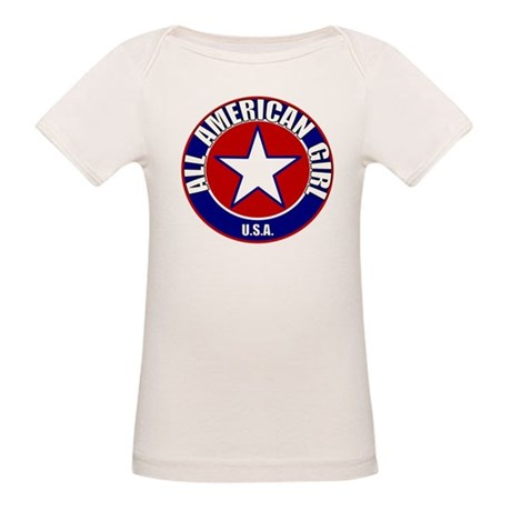 All American Girl Organic Baby T-Shirt