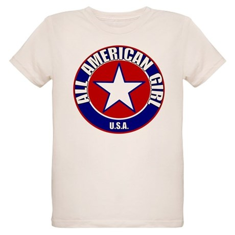 All American Girl Organic Kids T-Shirt