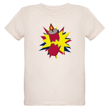 Firecracker Organic Kids T-Shirt