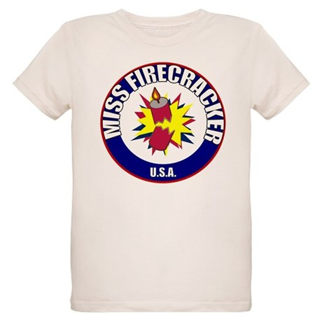 Miss Firecracker Organic Kids T-Shirt