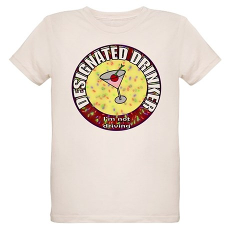 Designated Drinker t-shirt Organic Kids T-Shirt
