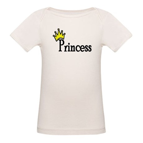 Crown Princess Organic Baby T-Shirt