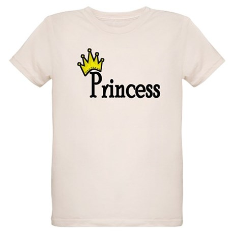 Crown Princess Organic Kids T-Shirt