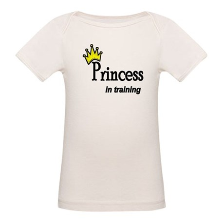 Princess in Training Organic Baby T-Shirt