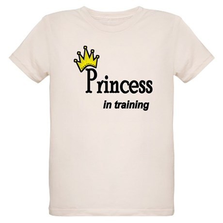 Princess in Training Organic Kids T-Shirt