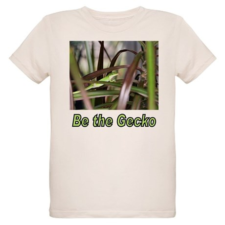 Be the Green Gecko Organic Kids T-Shirt