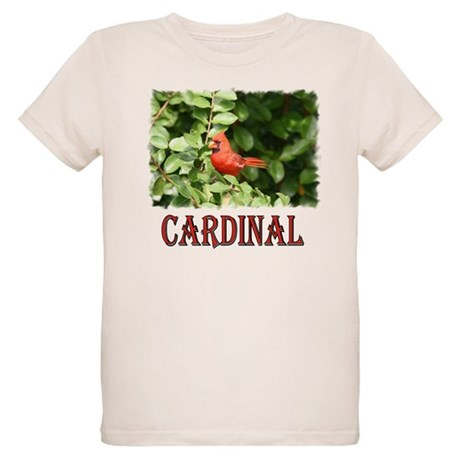 Northern Cardinal Organic Kids T-Shirt