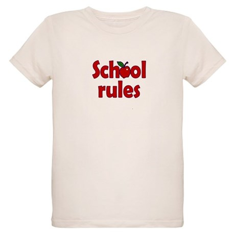 School Rules Organic Kids T-Shirt