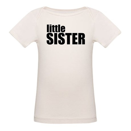 Little Sister Organic Baby T-Shirt