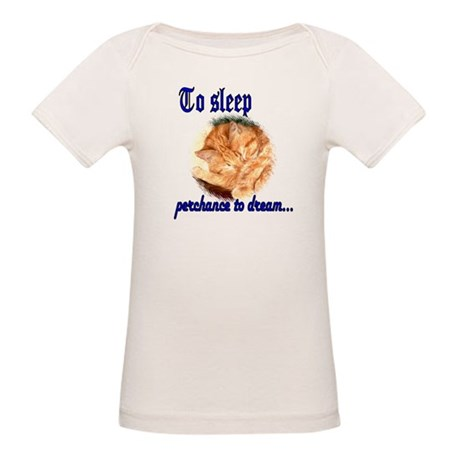 Shakespeare Cat Organic Baby T-Shirt