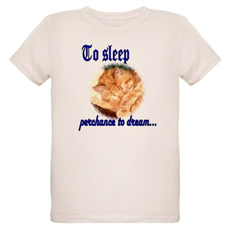 Shakespeare Cat Organic Kids T-Shirt