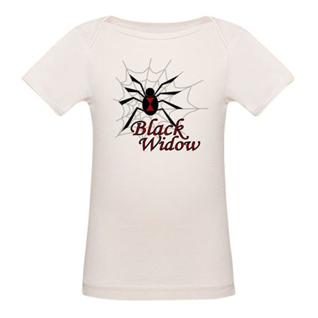 Black Widow Organic Baby T-Shirt