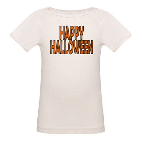 Happy Halloween Organic Baby T-Shirt