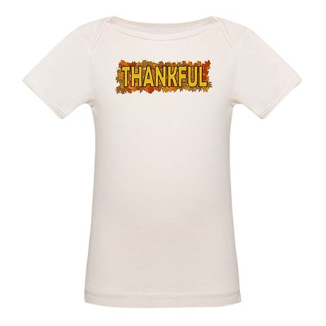 Thankful Thanksgiving Organic Baby T-Shirt